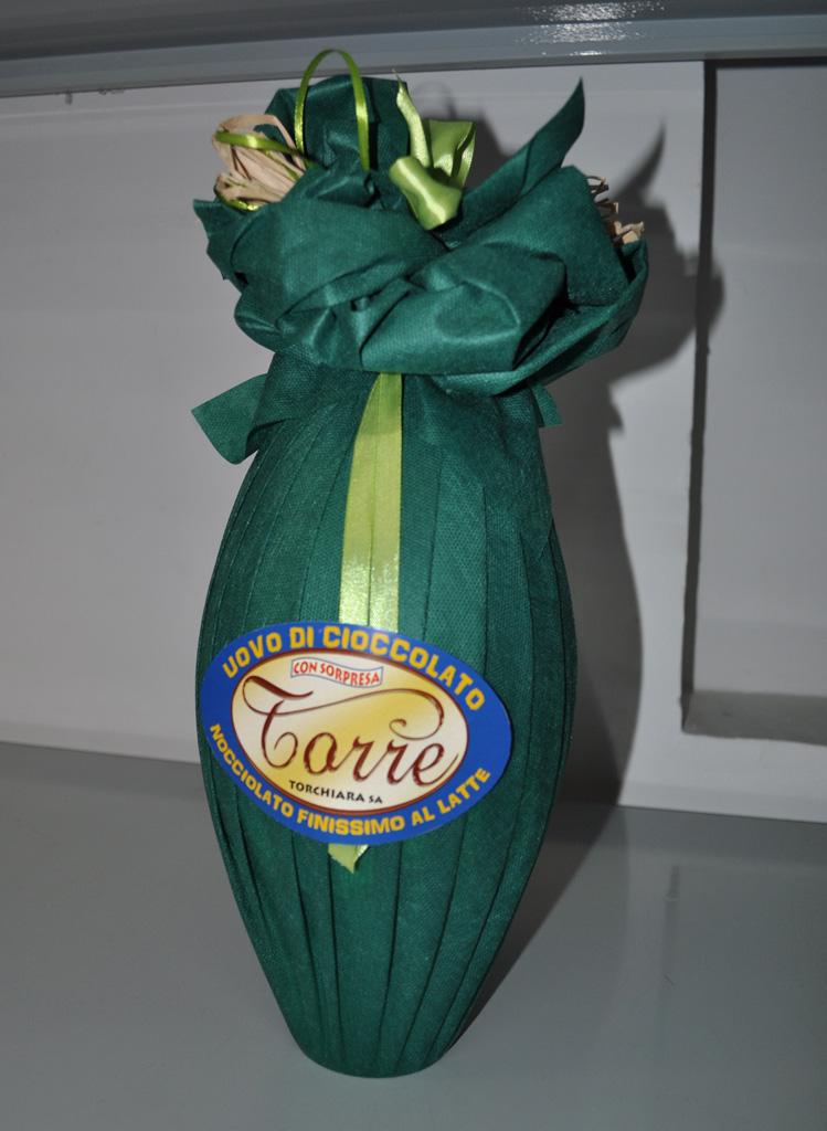 Uovo nocciolato latte fondente g 500